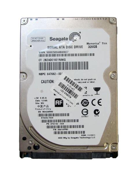 Seagate Momentus Thin 5400 new seagate momentus thin st320lt020 320gb 5400 rpm sata 2