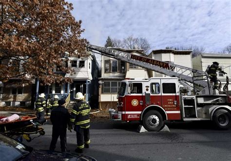 heavily damages albany home times union