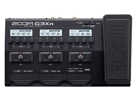 Multi Efek Zoom G3x g3xn multi effects processor zoom