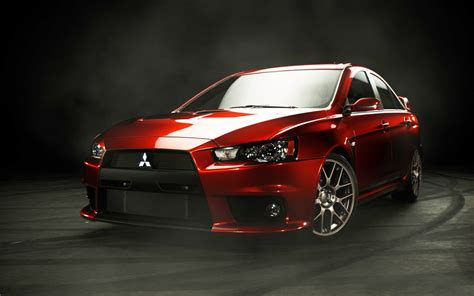 mitsubishi evo red red lancer evo x wallpaper desktop wallpaper wallpaperlepi