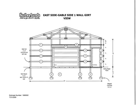 post frame home plans post frame house plans numberedtype