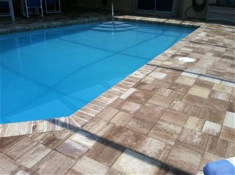 pool pavers remodel your pool deck with pavers from paver pool deck remodeling tuscan paving stone
