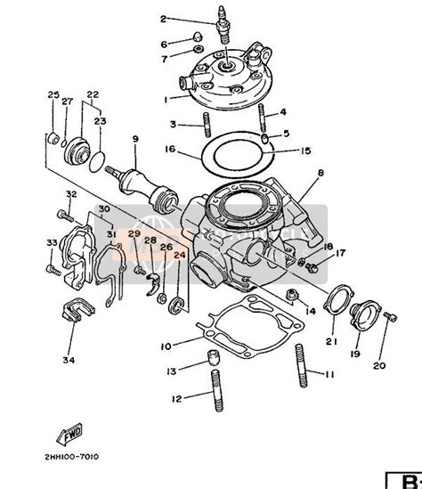 yz125 wiring diagram engine diagram and wiring diagram