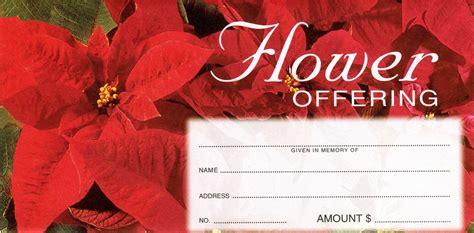 Christmas Flower Offering Envelope 100 Count 3 1 8 Quot X 6 1 4 Quot F C Ziegler Company 4 3 4 X 6 1 2 Envelope Template