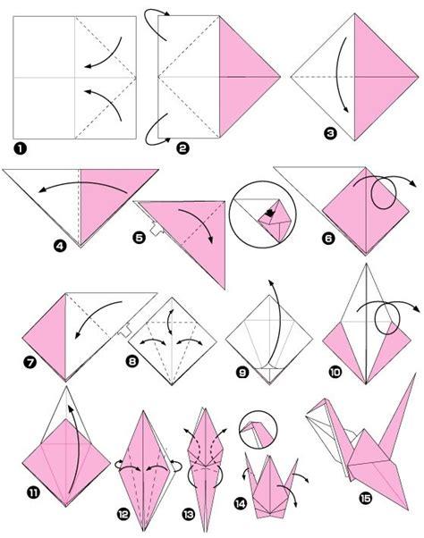 Origami Crane For Dummies - les 25 meilleures id 233 es concernant grues en origami sur
