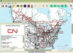 railroad maps free american railroad map american