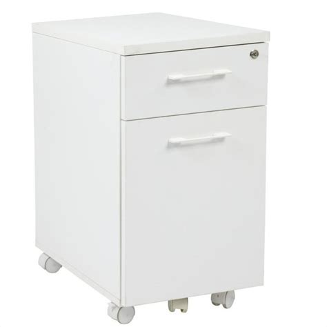 office prado l shape w mobile filing cabinet white