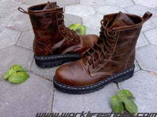 Sepatu Boots Kulit Premium Ii Original Handmade wanna rock style