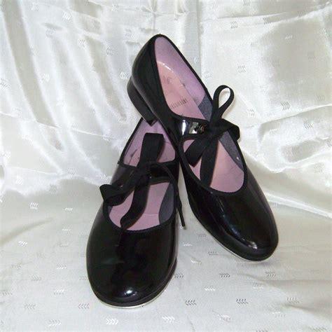 black tap shoes for capezio black patent leather tap shoes 6 1 2 med