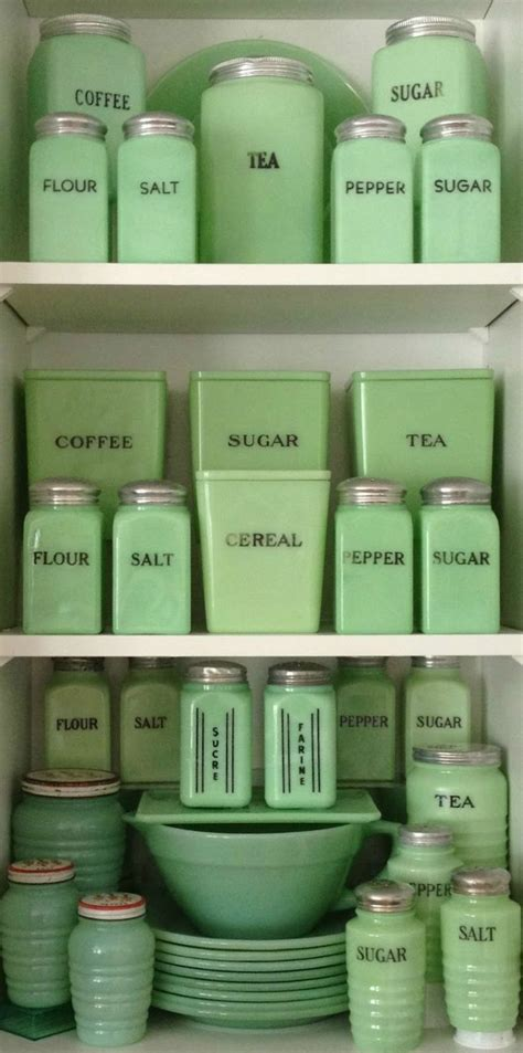 1940 s jadeite i need this for my organized pantry favorite things colors