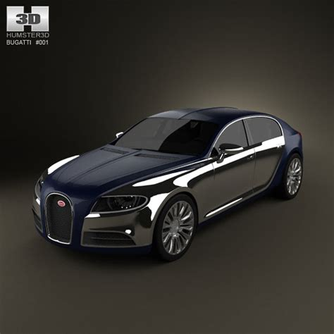model of bugatti bugatti galibier 3d model for in various formats