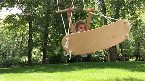 surf swing swurfer surfboard inspired tree swing
