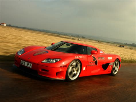 Red Koenigsegg Ccx Wallpaper