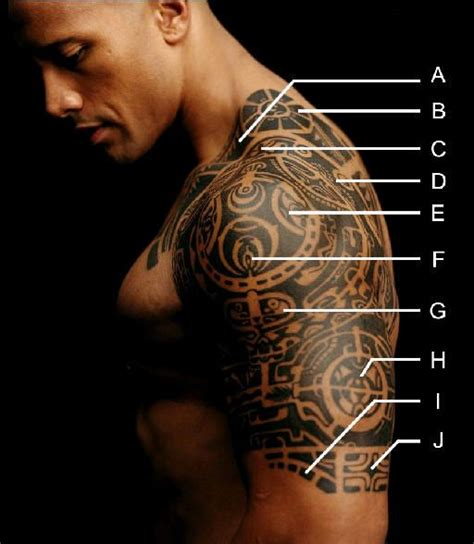 dwayne johnson tribal tattoo 1000 images about tattoos on