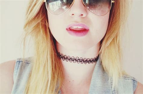 tattoo chokers choker trend dalry