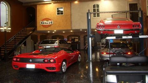 Awesome Garage Ideas by Cool Garages Popideas Co