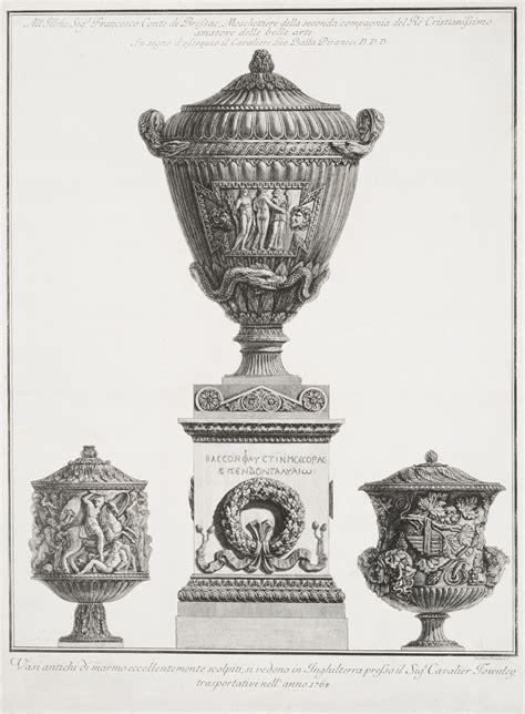 vasi antichi piranesi vasi antichi di marmo eccellentemente scolpiti