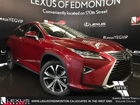lexus rx red 2017 2017 red lexus rx 350 awd luxury walkaround review east