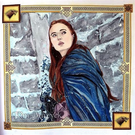 thrones colouring book sansa 564 best colored pencils images on