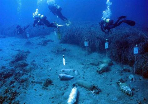 geländerhöhe archeologia ritrovamenti nel mare di gela recuperati