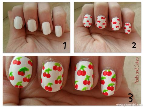 Nail Voor Beginners Korte Nagels by Cherry Me Up Nailart Nails And Cakes