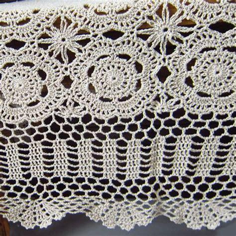 Lantern Home Decor crochet tablecloth