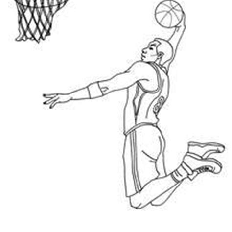 kobe bryant dunking coloring pages coloring pages