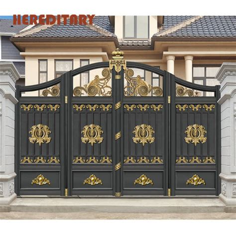iron gate color ideas time  source smarter aluminium
