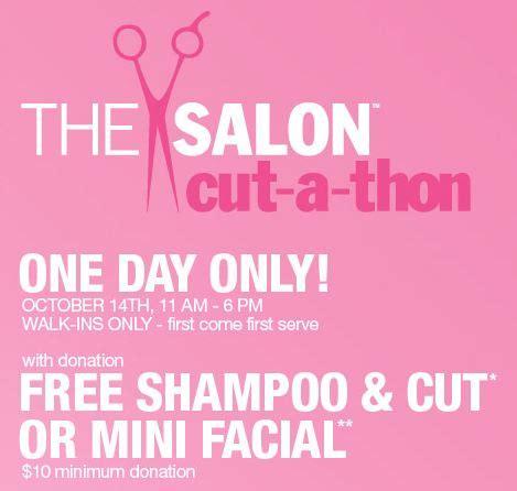 haircut coupons for ulta ulta free hair cut or mini facial with 10 donation 10