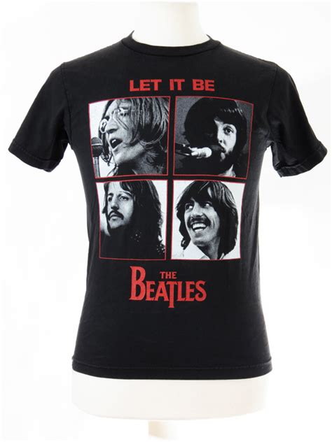 Tshirt The Beatles 5 the beatles let it be t shirt small 5 vintage