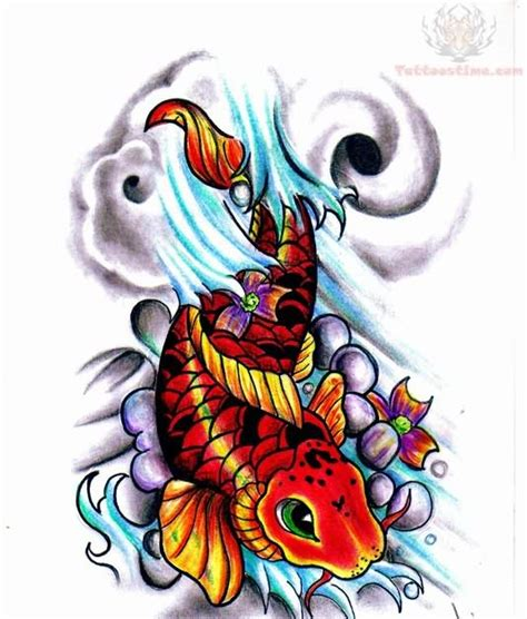 dragon koi fish tattoo designs 24 fish designs