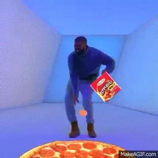 Meme Gifs - hotline bling pizza gif find share on giphy