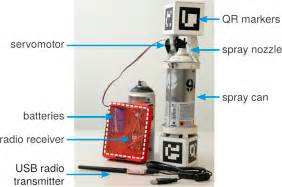 spray paint motherboard a smart spray paint can allows anyone to paint