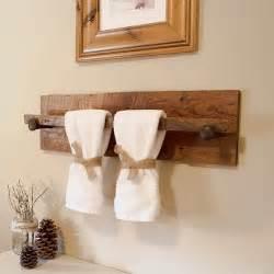 Towel Shelf With Hooks 10 Toalleros De Palets Sencillos Y Maravillosos I Love