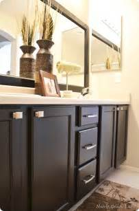 How To Paint Bathroom Cabinets Ideas Painted Bathroom Cabinets For The Home