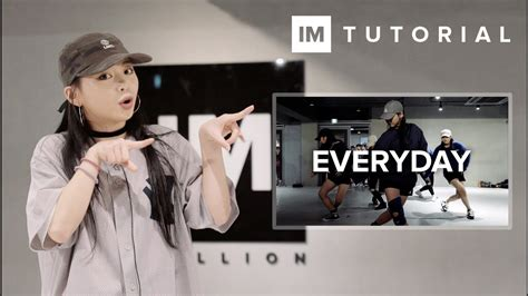 tutorial dance everyday ariana grande 1million dance tutorial