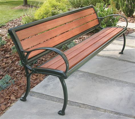 victor stanley benches panca pubblica classica in legno in metallo fm 324 victor