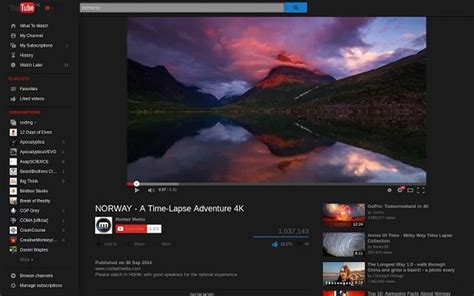 theme maker opera dark theme for youtube extension opera add ons