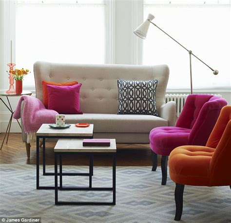oliver bonas sofa interiors get the glow down daily mail online