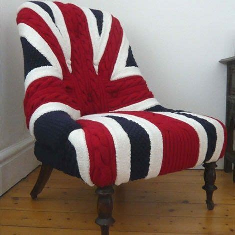 Union Jack Armchair Union Jack Chair Much Too British For My Own Good