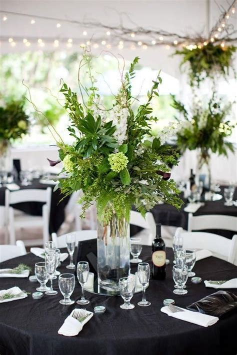 Beautiful Greenery Centerpiece Weddings Pinterest Greenery For Wedding Centerpieces