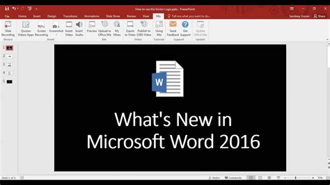What S The Microsoft Office What S New In Microsoft Office Word 2016