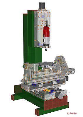 e plans com five axis cnc router plans table design 5 5th milling 3d