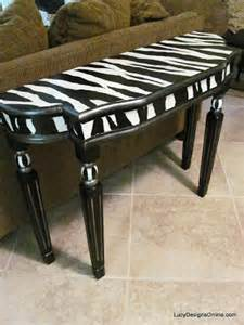 Zebra Table L by Zebra Table Before And After Designs