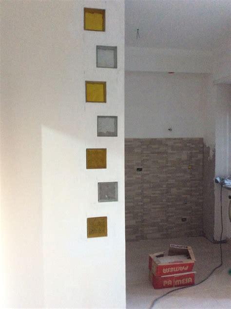 parete doccia vetrocemento realizzare una parete in vetrocemento come realizzare una