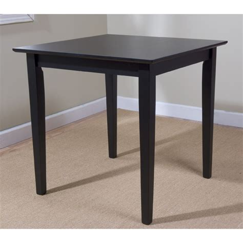 Dining Table Walmart Udine Dining Table Black Walmart