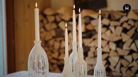 tropfkerzen dekoration selber herstellen hongler kerzen