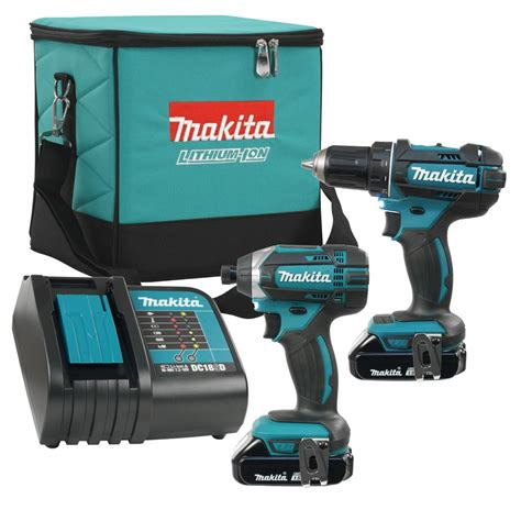 makita 2 impact driver and driver drill combo kit