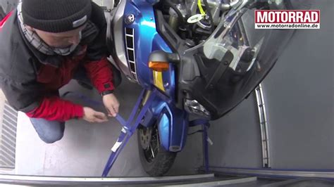 Motorrad Transport Ohne Anh Nger by Motorrad Richtig F 252 R Den Transport Verzurren