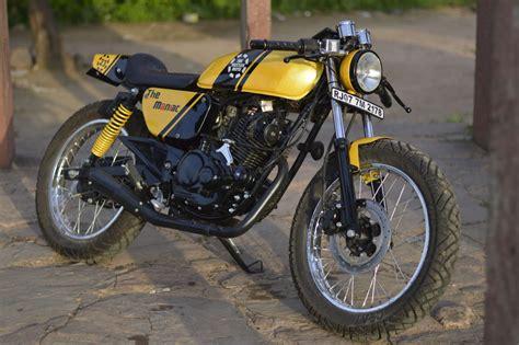 Handmade Cafe - bajaj pulsar 150 turns into a custom cafe racer by the
